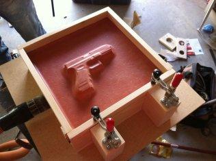 Homemade Kydex Vacuum Press