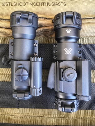 Comparison Between Strikefire II (Right) and PRO (Left)